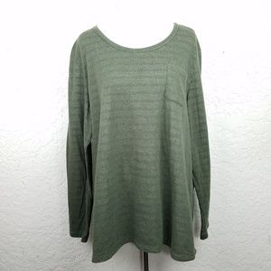 Natural Reflections Women top size 1X pullover sof